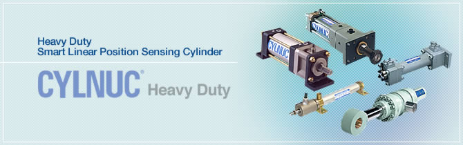 Heavy Duty Smart Linear Position Sensing Cylinder CYLNUC®