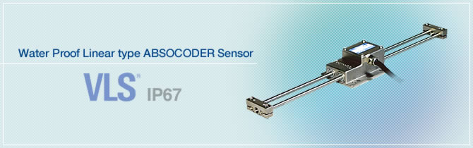 Water Proof Linear type ABSOCODER Sensor VLS®