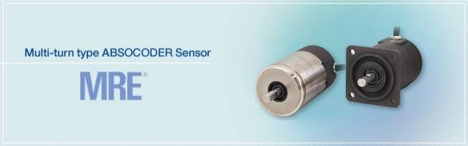 Multi-turn type ABSOCODER Sensor MRE®