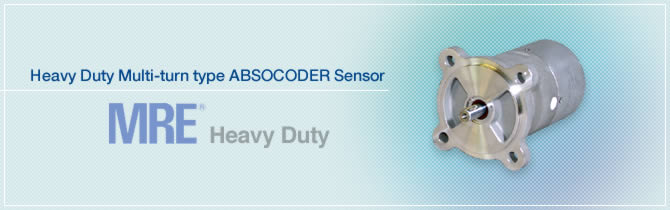 Heavy Duty Multi-turn type ABSOCODER Sensor MRE®