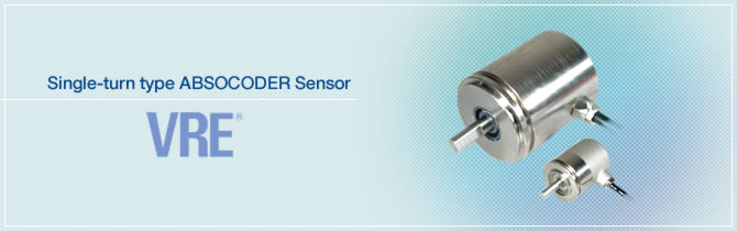 Single-turn type ABSOCODER Sensor VRE®